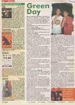 Pagina cu interviul din revista TVSatelit nr. 21/98.