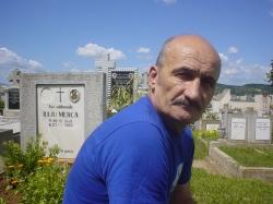 Ben la Mormântul lui Iuliu Merca (21 iulie 2009)