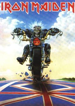Eddie? On A Motorcycle.