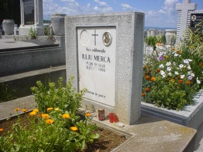 Mormântul lui Iuliu Merca (1948 - 1999)
