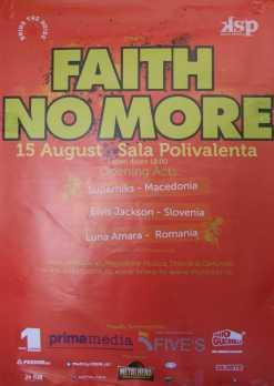 Faith No More revine în 2009. Prima dată în România.