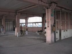 Galeria Fabrica de pensule (Perom). Interior.