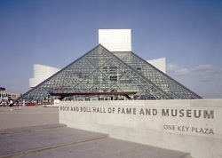 Rock'n'Roll Hall Of Fame. Cleveland, Ohio