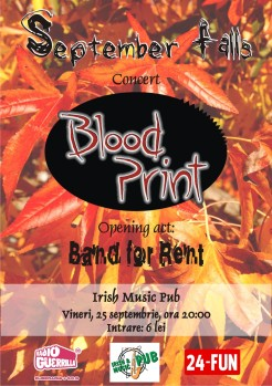 Blood Print & Band for Rent