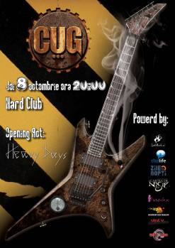 CUG 8.10. Hard Club. Cluj