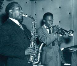 Miles Davis cu Charlie Parker