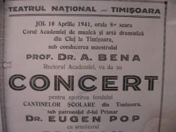 1941. Din Cluj la Timişoara