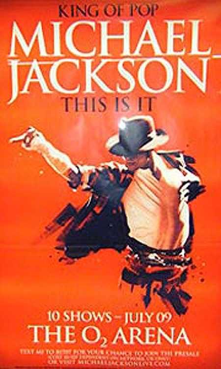 Michael Jackson trebuia să susţină 50 de concerte la Arena O2 din Londra toamna asta