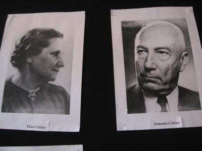 Antonin şi Eliza Ciolan. Doamna a fost profesoară de pian
