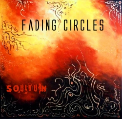 Fading Circles. Cool Old School Rock Band