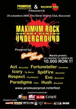 Finala Support pentru Underground 2009