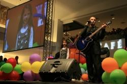 Pavel Stratan şi Cleopatra Stratan la Polus Center Cluj