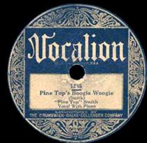 Pine Top a înregistrat 11 piese la Vocalion