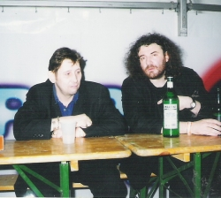 Shane MacGowan and Manager
