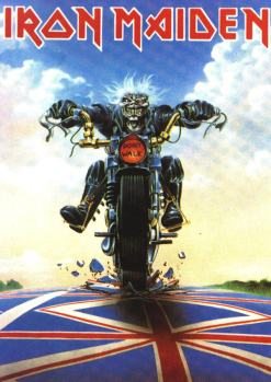 Iron Maiden. Fearless Eddie