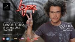 Byron. lansare album la Cluj