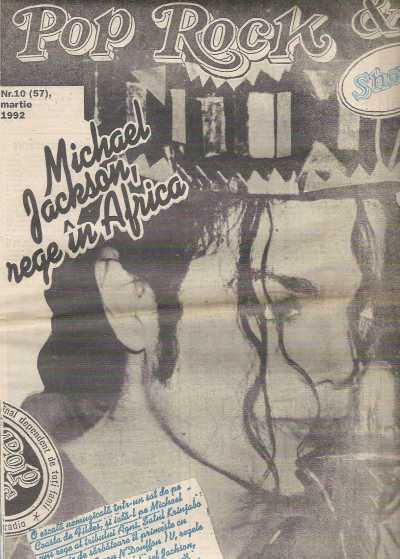 Pop Rock & Show. Ziar românesc de muzică, condus de Andrei Partoş. 1993
