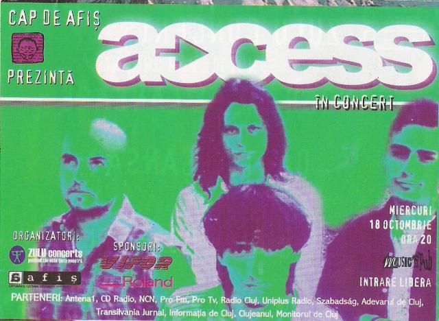 Macheta din AFIS. Access. 18.10.2000