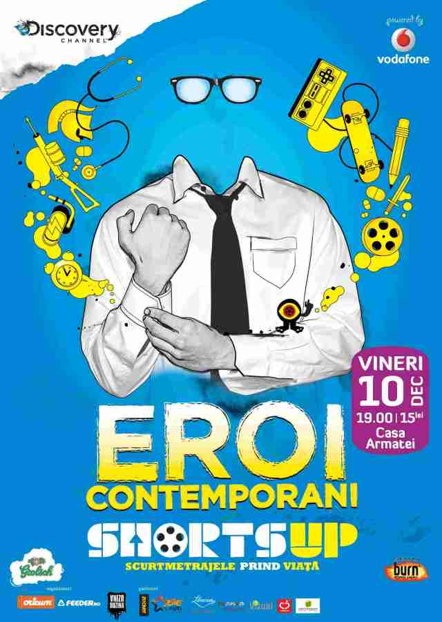 Eroi-Contemporani. Shorts Up