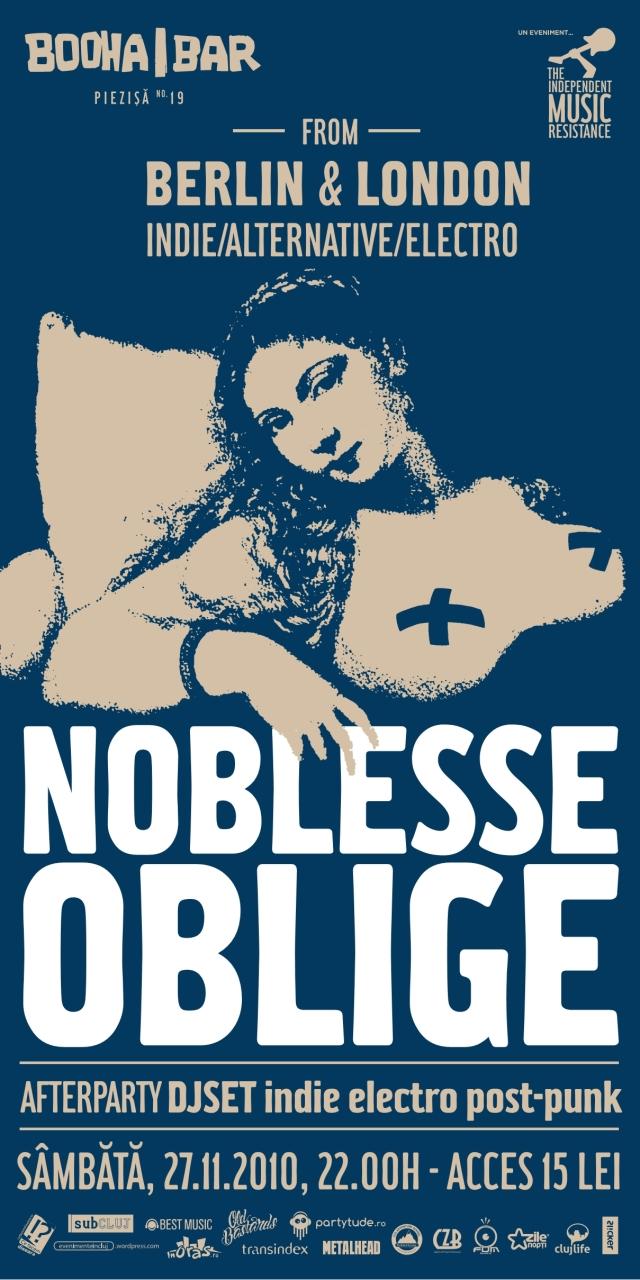 Noblesse Oblige la Cluj