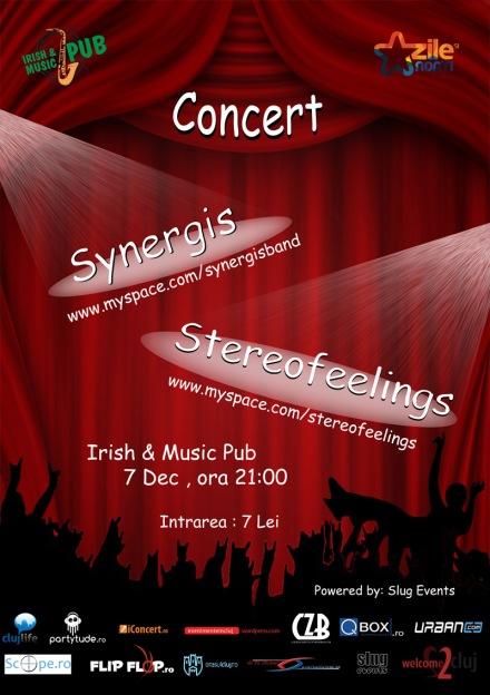 2010.DEC.7. Irish&Music Pub. Synergis. Stereofeelings