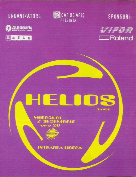 MACHETA promo AFIS. Helios. Wake Up. 6.12.2000