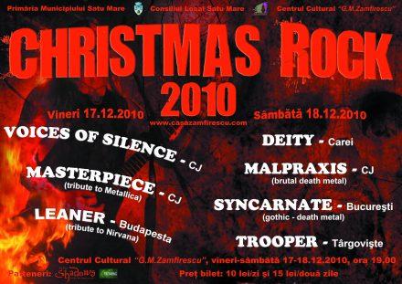 SM Christmas rock 2010